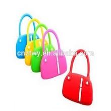 Fashion women hand bag usb flash drive,custom logo usb memory,low price PVC usb