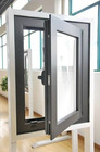 Italy system aluminum casement window /energy saving window in high quality DMT-CA-602
