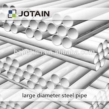 Large diameter OD 536-800 PN 0.6-2.0 Mpa wear resistance rubber lined steel pipe