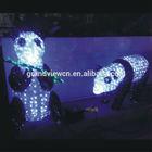 led 3d chinese panda xmas light for park