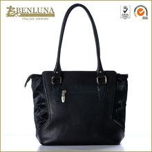 Woman Leather Tote Bag/Guangzhou Fashion Handbag/Leather Bag Manufacture