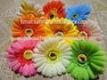 China fornecedor / vaso de flor artificial / barato flor artificial cabeça decoração