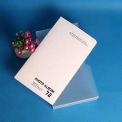 gorgeous pvc sheet for photo album in white color