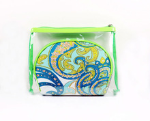 Buy mini Cute Clear pvc cosmetic bags with beautiful printing