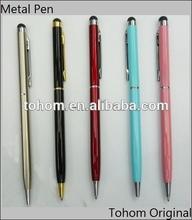 high quality wholesale slim metal twist ballpoint pen