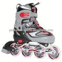Popular girl on roller skates