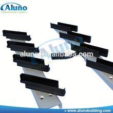 Wide application aluminum shutter blinds slats