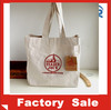 cotton canvas bread bag/small zipper cotton canvas tote bags/heavy canvas tote bag