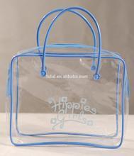 custom clear pvc plastic gift bags