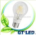 Nuevo blanco cálido diseño led lámpara de la bombilla de filamento