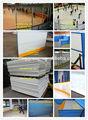 Batidor de polietileno de alta densidad tablero pista de hielo barrera/cerca fabricante profesional