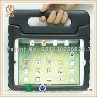 Anti shock EVA foam rotatable hand hold case for ipad mini