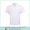 Plain White Color Plus Size Dri Fit Uniform Golf Shirts