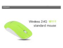 Wireless 2.4G standard (slim) Mouse M111 green grass