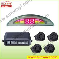 car alarm of LED sensor de estacionamento reverse para reverter carro run freely car pa with manual parking sensor toyota camry