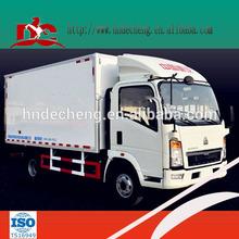 CKD cargo dry van box truck body cargo van truckckd refrigerated truck body