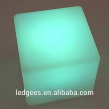 Cool Bar/club/party/wedding/KTV/hotel Floating Waterproof make led light cube