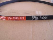 4pk850 auto rubber ribbed v belt for AUDI,HONDA,MAZDA and so on