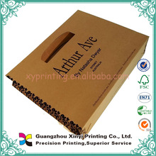 Wholesale cheap brown paper bag with handles