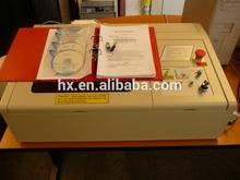 hot sale! China Rabbit HX40A 30W mini laser machine