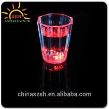custom led flashing cup,Popular bar LED Flashing whiskey rocks glass for Christmas, good seller