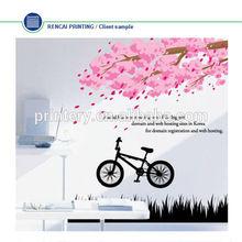 Fashion sakura decorative wall stickers