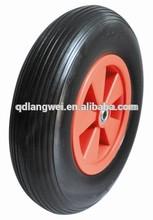 wheelbarrow spare parts 4.00-8 and 3.50-4 pu wheel