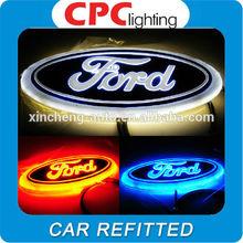 Led 4d car logo/car led emblem for FORD
