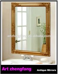 Ornate mirror frame wood furniture moulding mirror frame