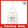 Reusable cheapwholesale plain canvas tote bags/tote bag canvas/long handle cotton bags