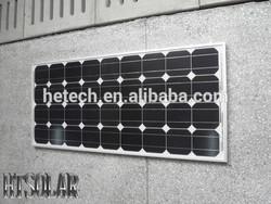High quality cheap 50w monocrystalline solar photovoltaic panel