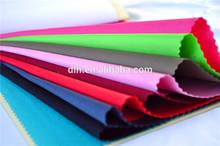 stock lot t/c plain dyed twill fabric