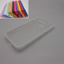 White clear back skin rim pc tpu case for samsung galaxy i9100 2014