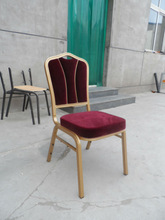 aluminium stackable used banquet chairs for sales