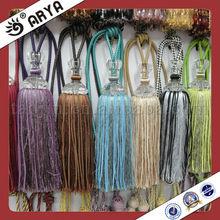Crystal Curtain tassel tieback,polyester curtain tassel