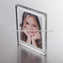 pretty girls clear 6x4 acrylic photo frame