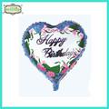 """حار بيع 18"""" عيد ميلاد سعيد بالون على شكل قلب احباط صور"""