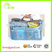 Lady Jewelry Storage Bags With PVC Pockets