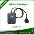 Obd2 auto scanner 100% original online- atualização obd& eobd leitor de código de lançamento creader 6/lançamento creader vi atualização on-line