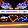 Hottest Sale Flexible car led daylight and high power 12v auto daylight running leds