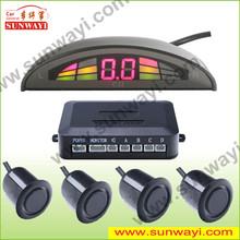 shenzhen sunway hot-selling led parking sensor system car reverse backup radar distance parking sensor for volvo