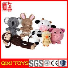 yangzhou factory stuffed crochet toys crochet animal toy