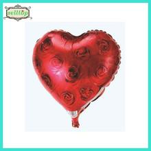 "Hot sell 18"" heart shape wedding foil mylar balloon"