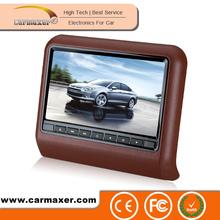 auto dvd headrest for car seats support wireless game USB/SD/FM/IR