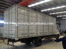 Dry Cargo Box Truck Van / CKD refrigerator truck box