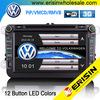 "ES8015V 7"" Car DVD SAT VW GOLF 5 6 PASSAT CC TIGUAN Sharan EOS Caddy Jetta SEAT"