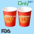 personalizado impresso papel copos de café