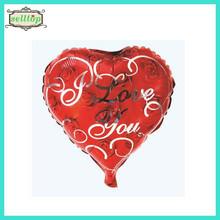 "Hot sell 18"" heart shape metallic foil balloons"