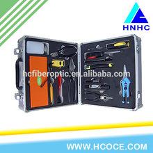 mini ftth terminal box optical tool box FTTH assembly fiber optic equipment optical tool kits FTTH kit tools