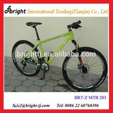 "26"" Aluminium alloy fork shock absorption / suspension mountain bike"